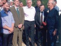 Lovci Guče sa predsednikom Srbije Tomislavom Nikolićem