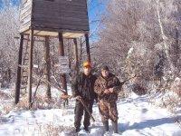 Ispred lovačke čeke u LD Kaona