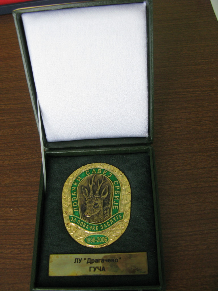Orden LSS za lovačke zasluge
