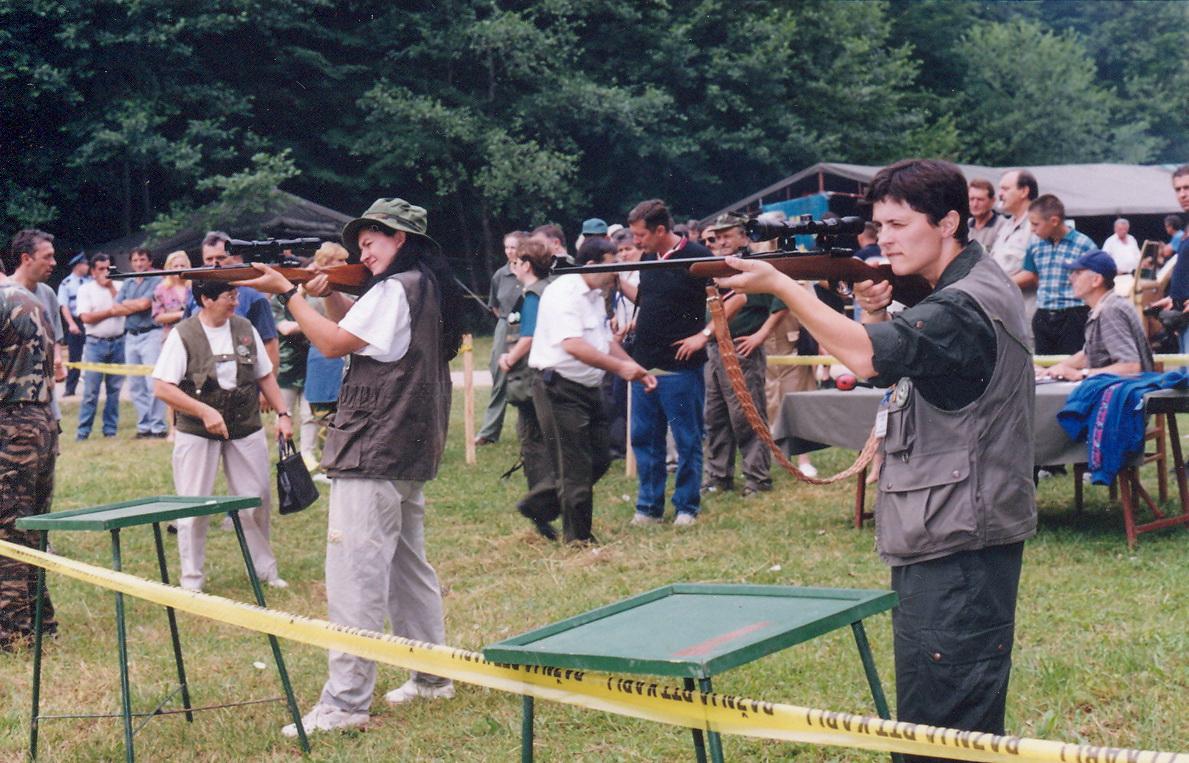 Takmičenje žena lovaca